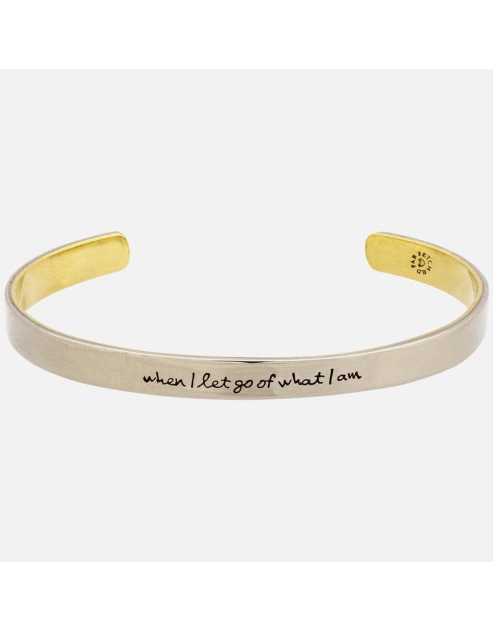 When I Let Go of What I am, Stackable Cuff, Mexico