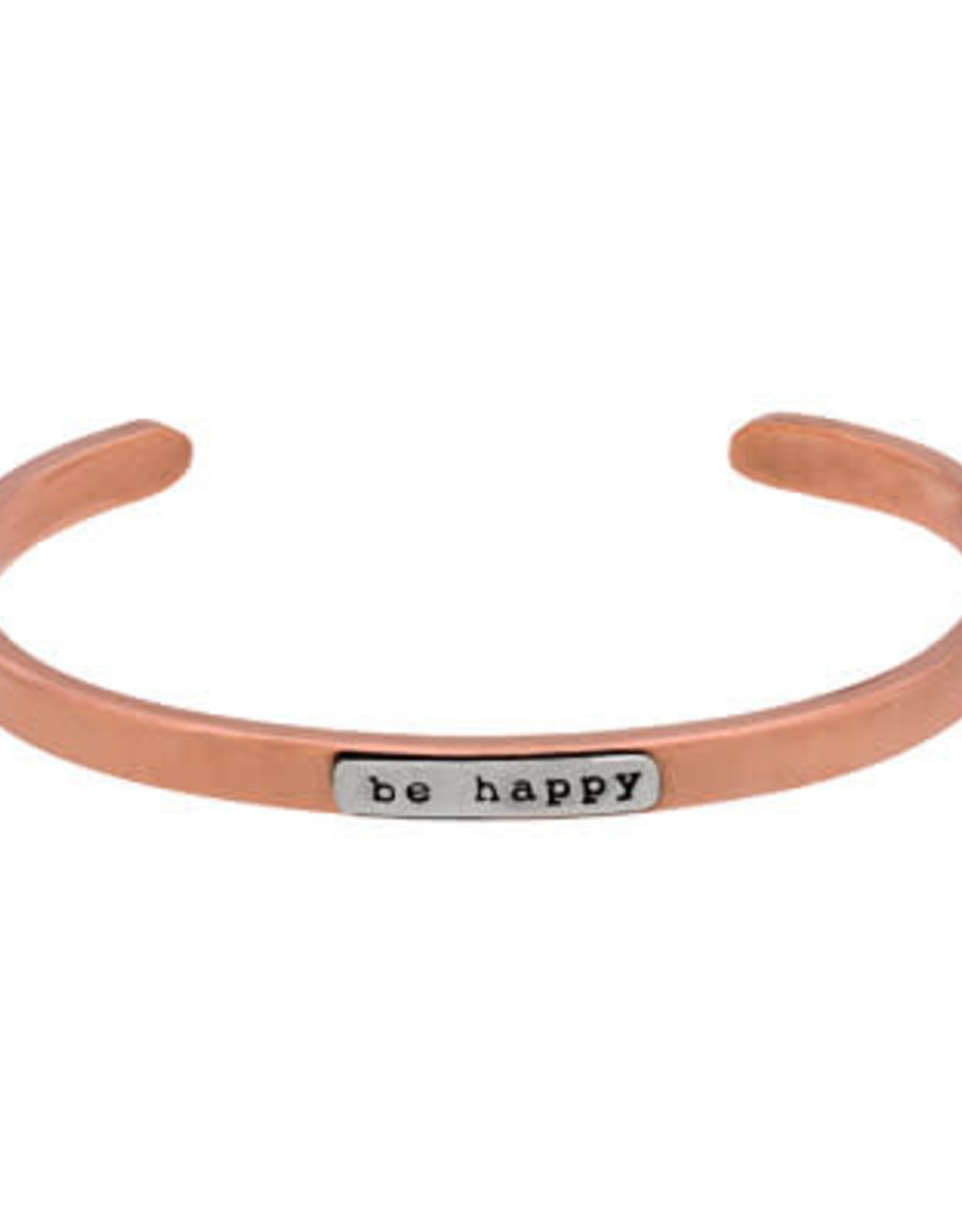 Mexico, Copper Cuffs   BE HAPPY