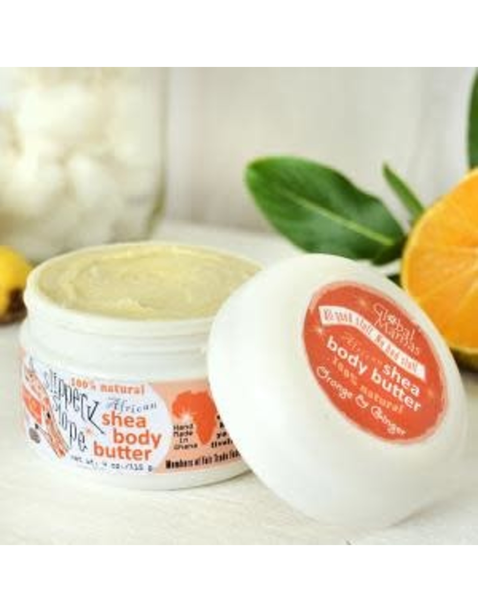 Shea Butter, Orange Ginger