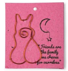 Card Book Mark Cat