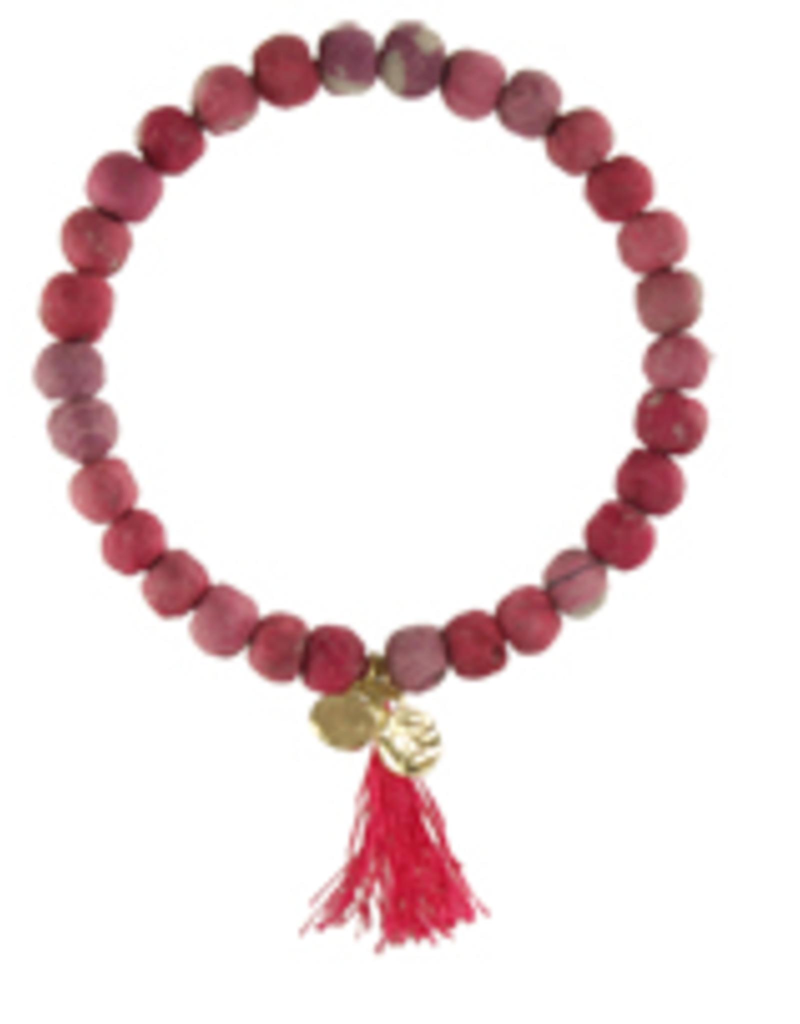 Kantha Connection Bracelet Compassion