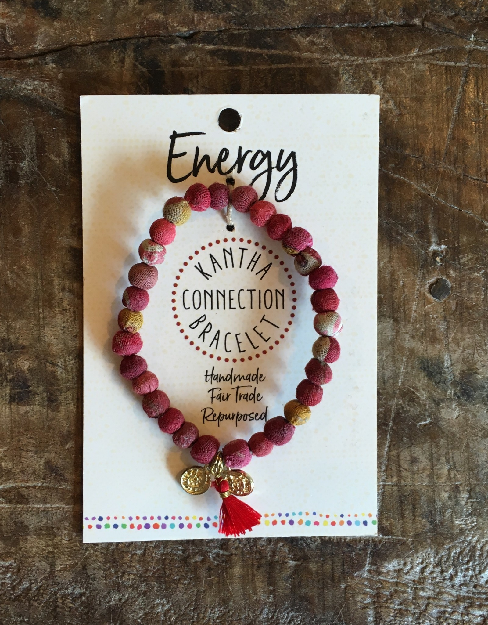 Kantha Connection Bracelet Energy