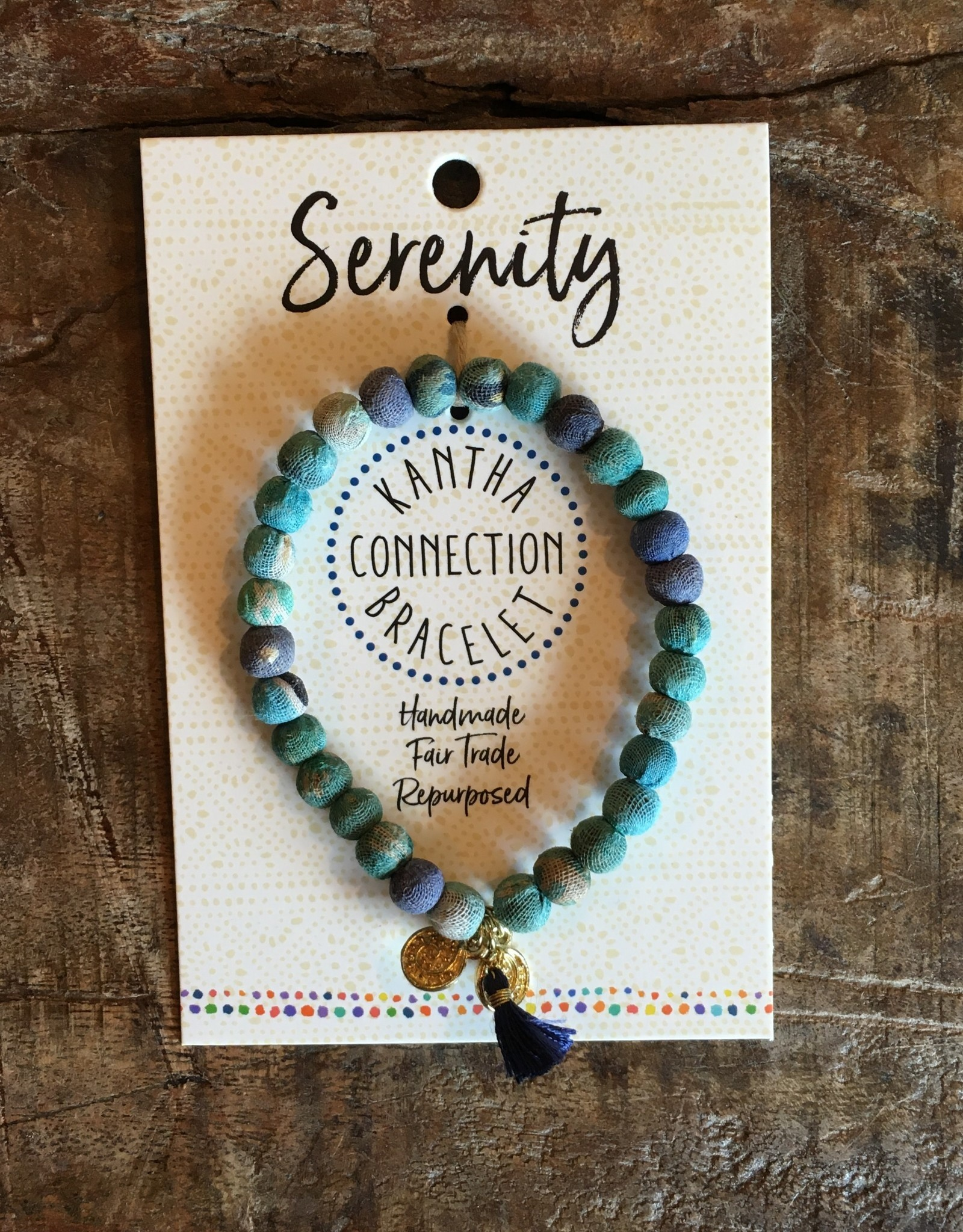 Kantha Connection Bracelet Serenity