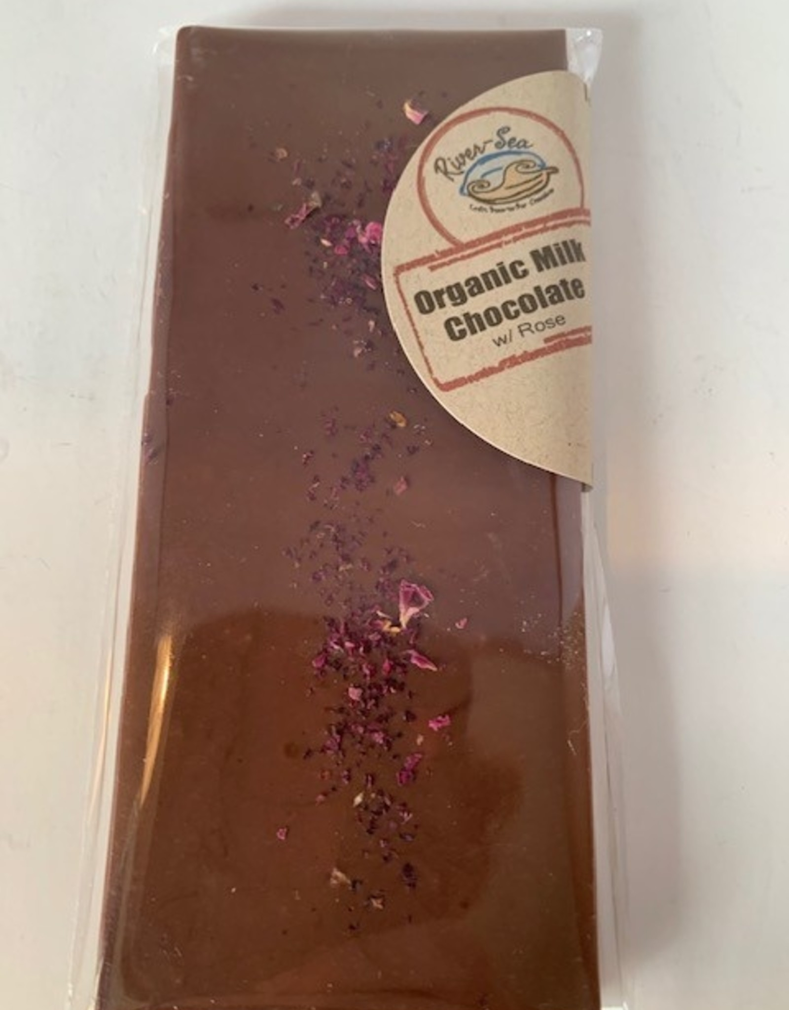 River-Sea Rose Petal Milk Chocolate