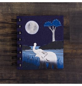 Small Notebook, Elephant Midnight, Sri Lanka