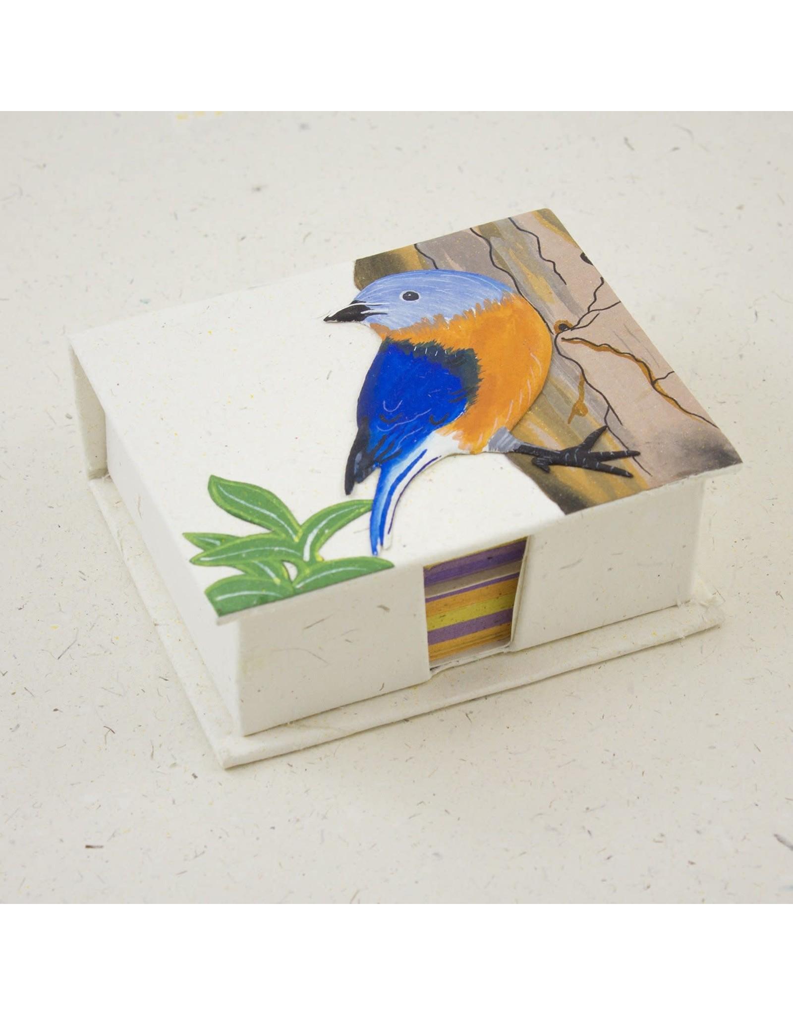 Note Box  Bluebird, Sri Lanka
