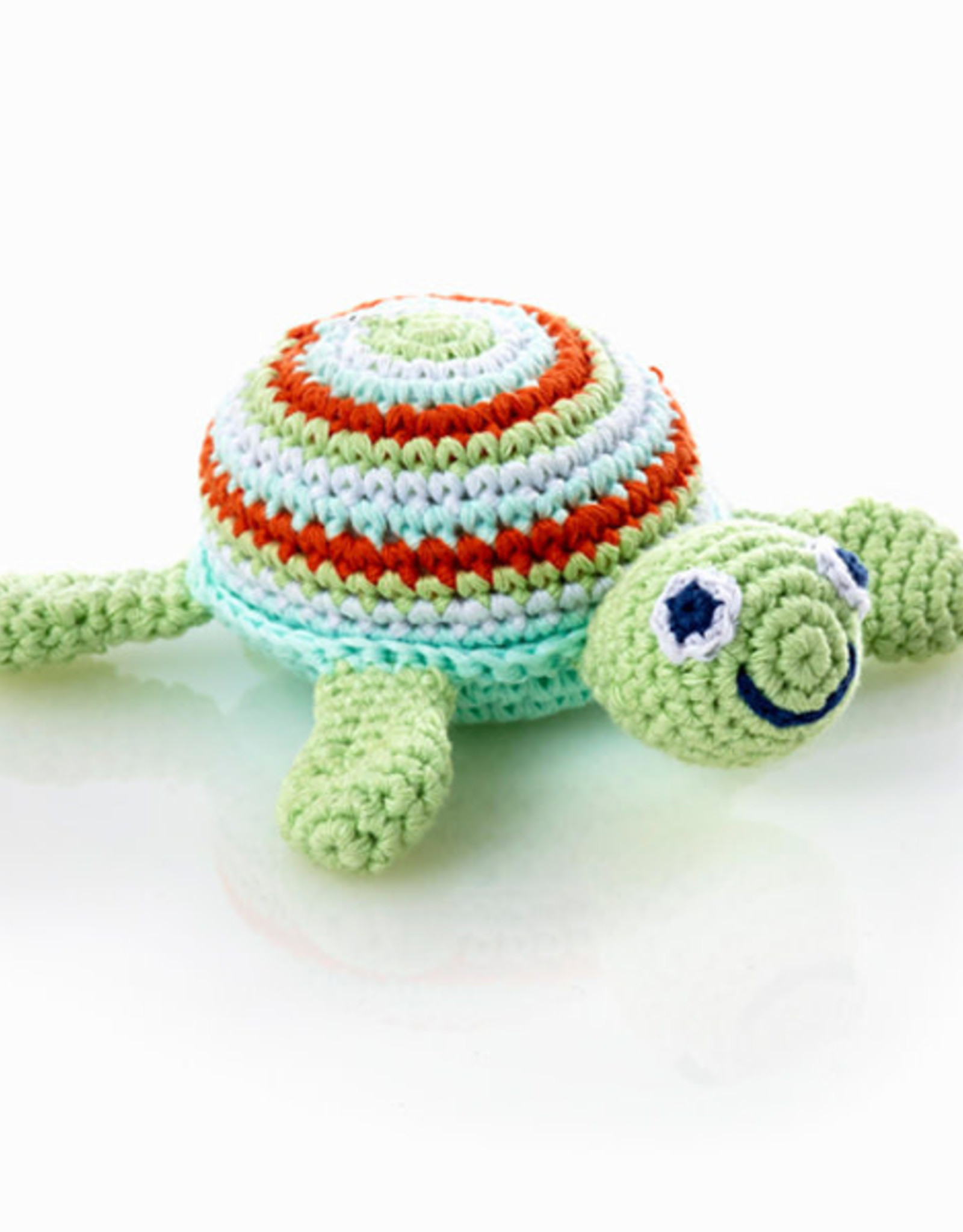 Sea Turtle Rattles, Green or Pink