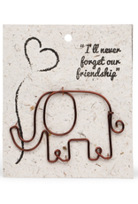 Wire Elephant Bookmark, India