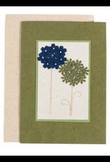 Hydrangea Greeting Card