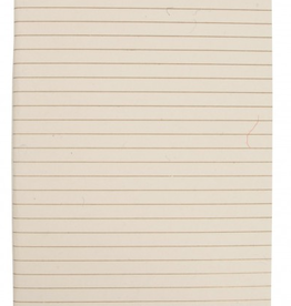 Lined Paper Journal Insert