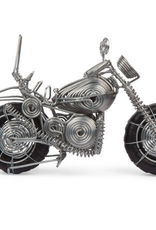 Motorcycle Wire Sculpture