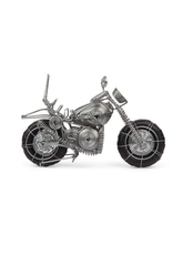 Motorcycle Wire Sculpture, Kenya