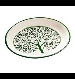 Tree of Life Ceramic Platter, West Bank