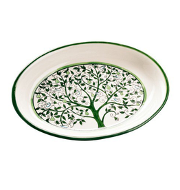 Tree of Life Ceramic Platter