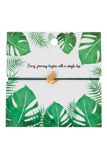 Charm Bracelet on Inspirational Card Frog, India
