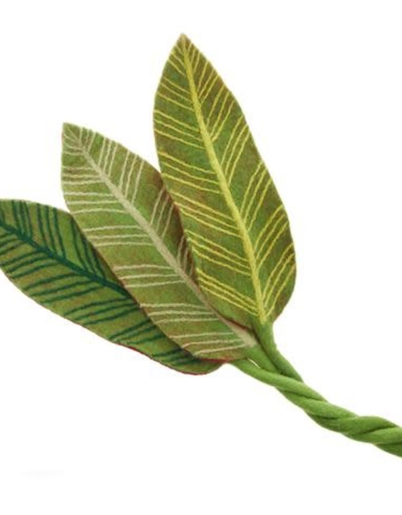 Felt Calathea Leaf