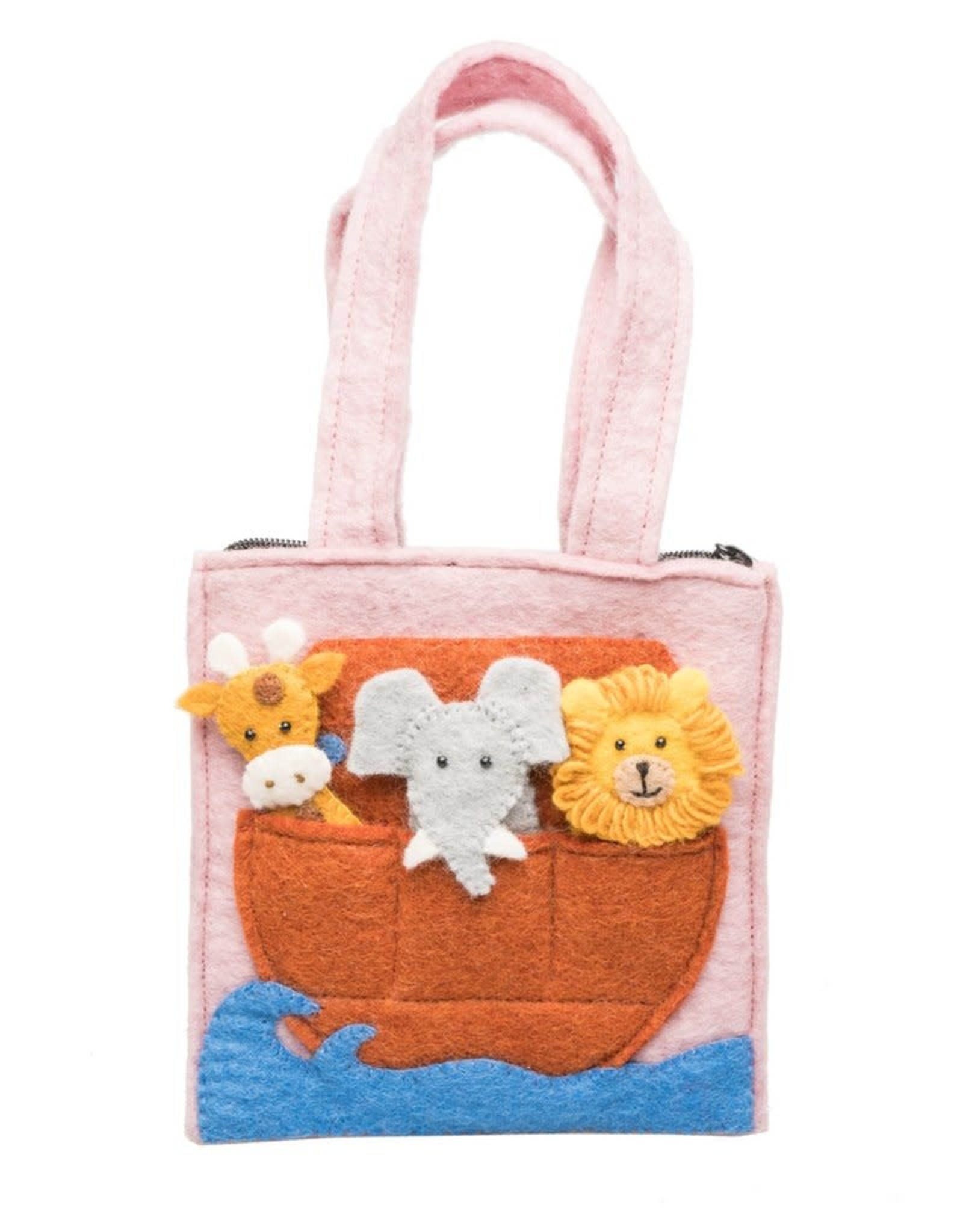 Noah's Ark Felt Puppet Bag