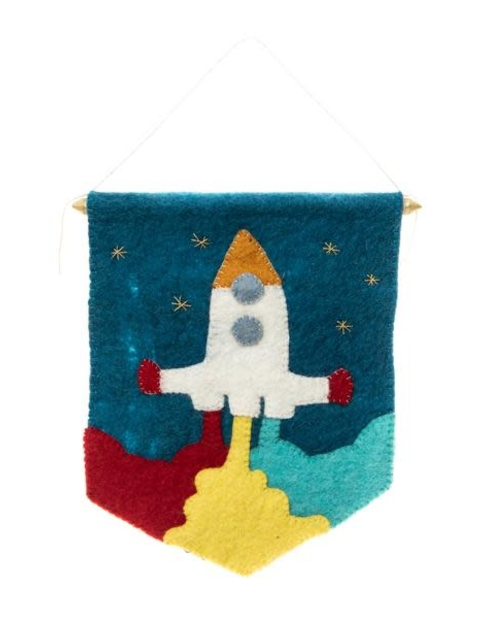 Nepal, Rocket Banner