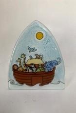 Ecuador, Glass Nightlight Noah's Ark