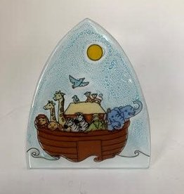Ecuador, Glass Nightlight Noah's Ark