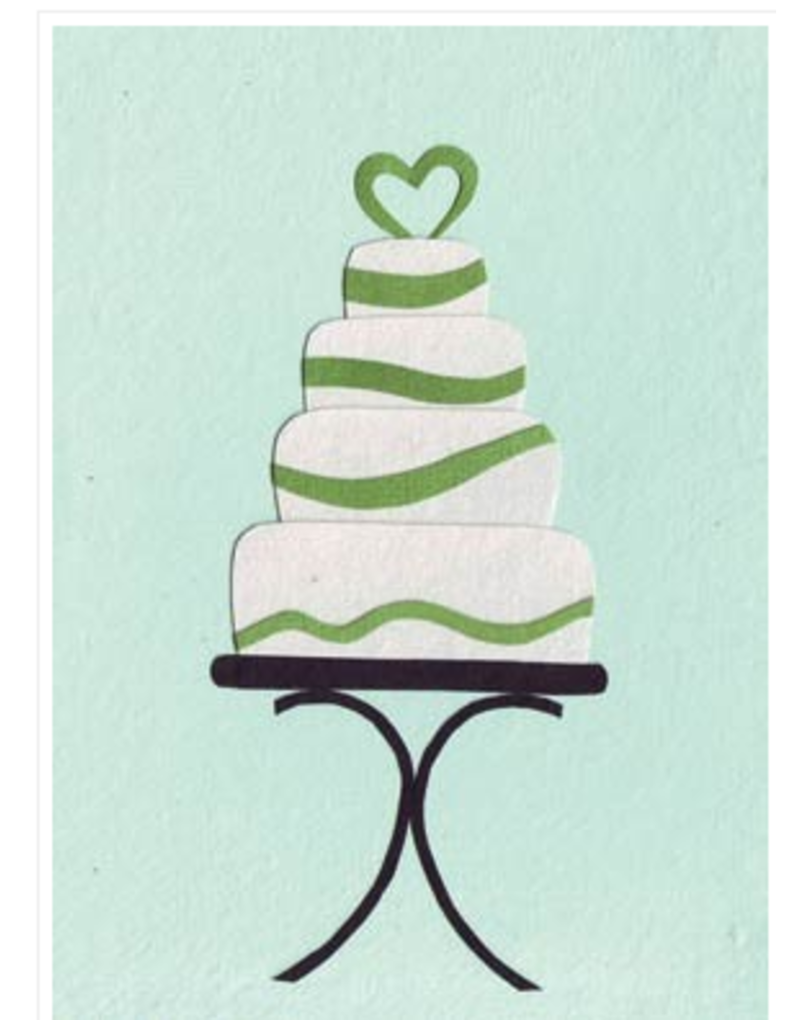 This Wedding Takes the Cake Card