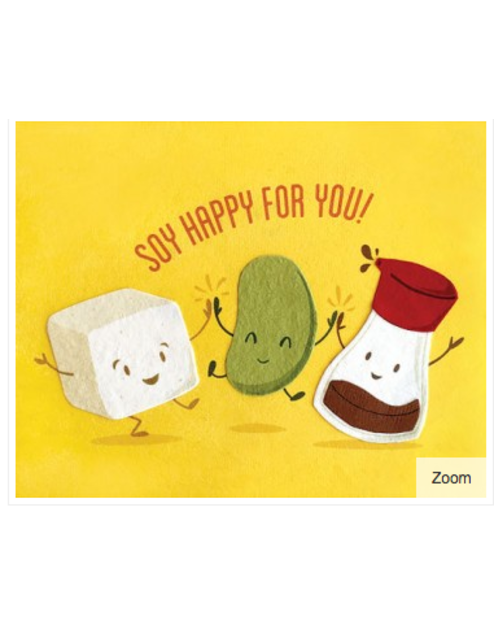 Soy Happy Congrats Greeting Card