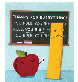 You Rule Thanks Greeting Card, Philippines