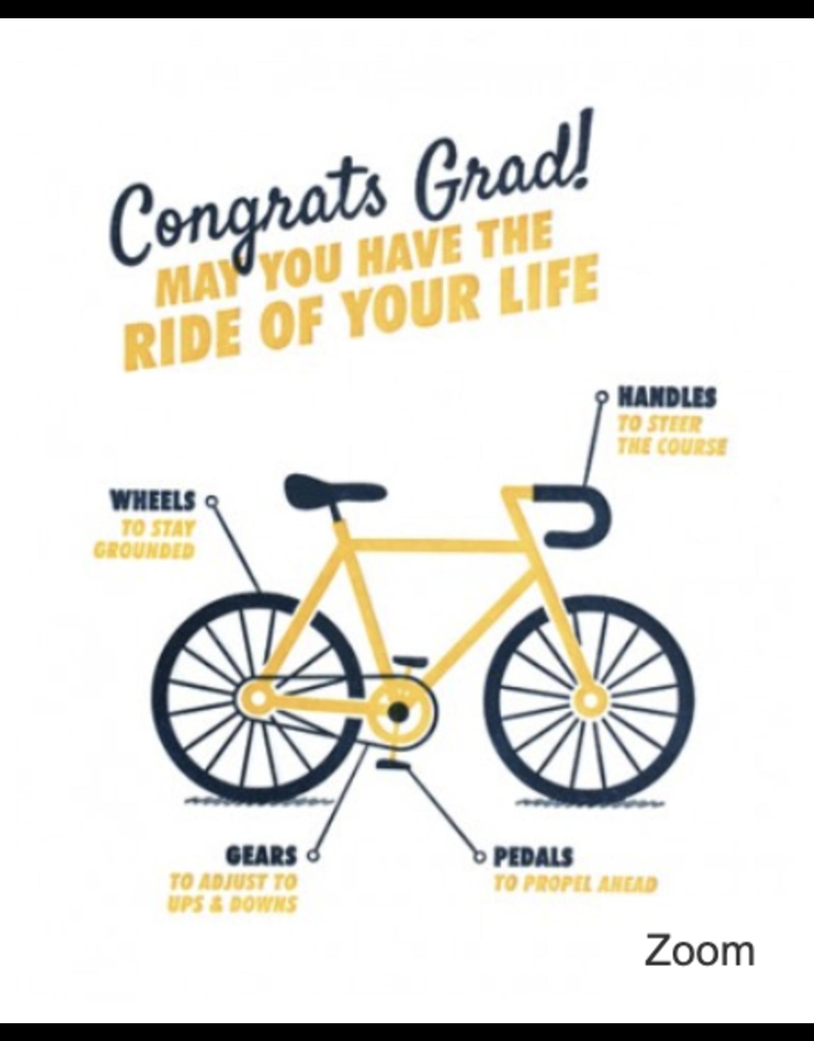 Graduation Bicycle Card