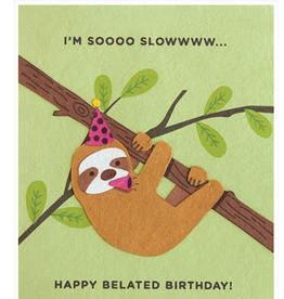 Sloth Belated Birthday