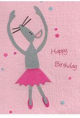 Mouse Ballerina card