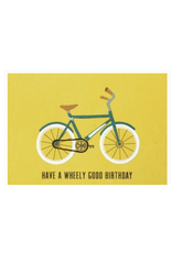 Wheely Good Birthday Card