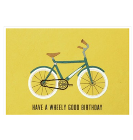 Wheely Good Birthday Card