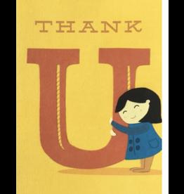 Thank U Hug Greeting Card