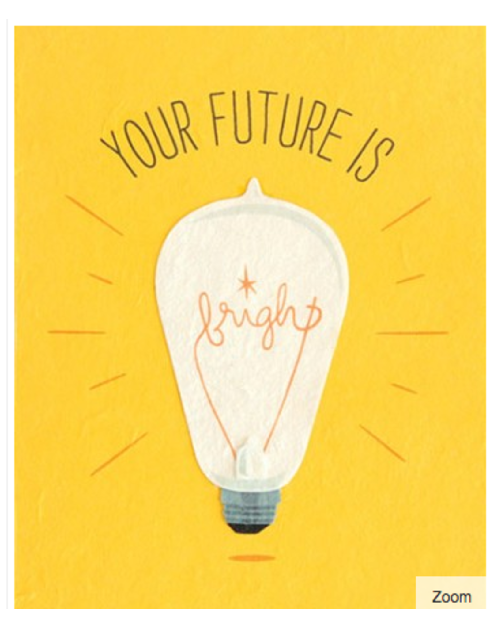 Future Is Bright Greeting  Card, Philippines