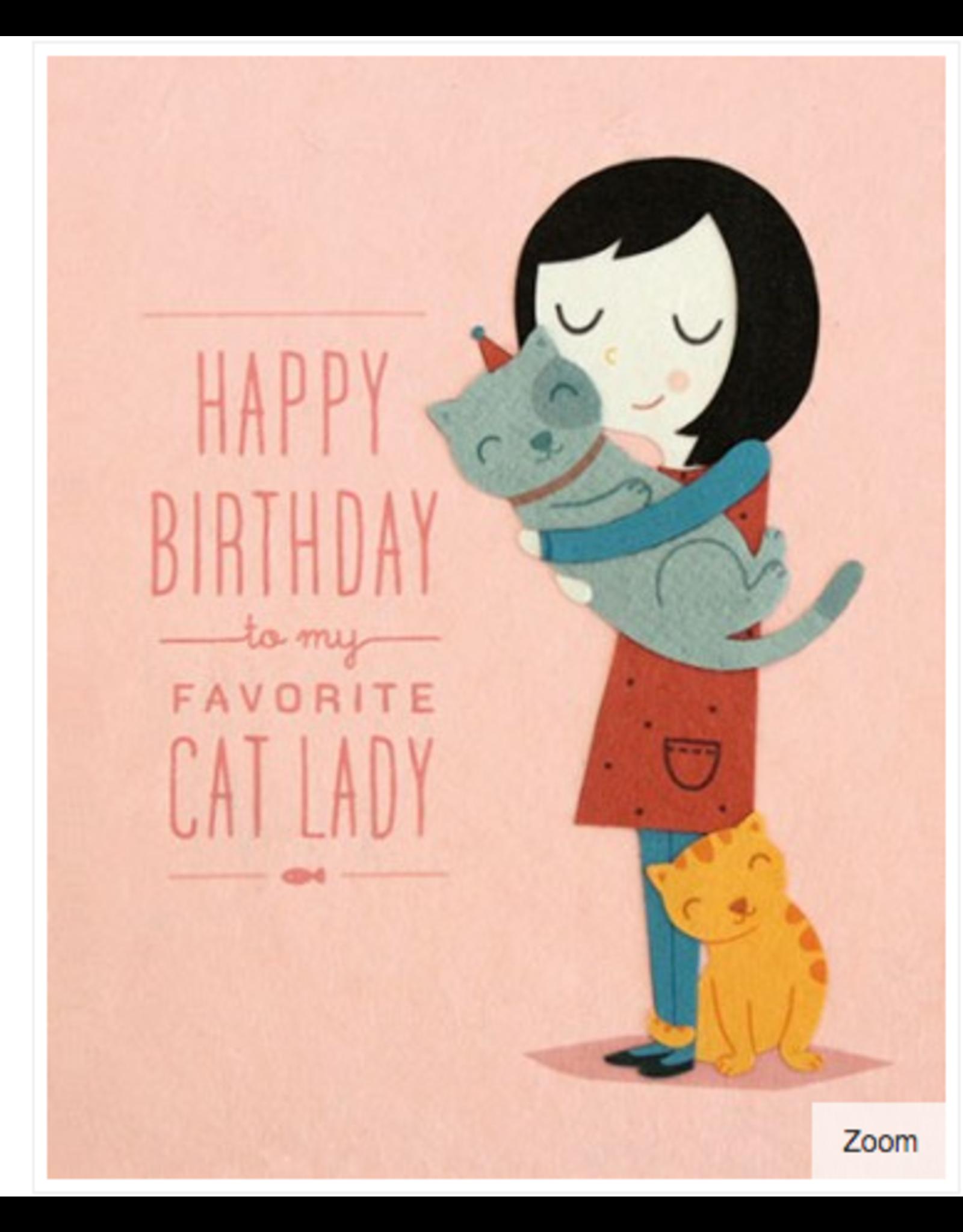 Cat Lady Birthday