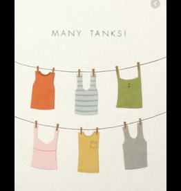 Many Tanks! Greeting Card