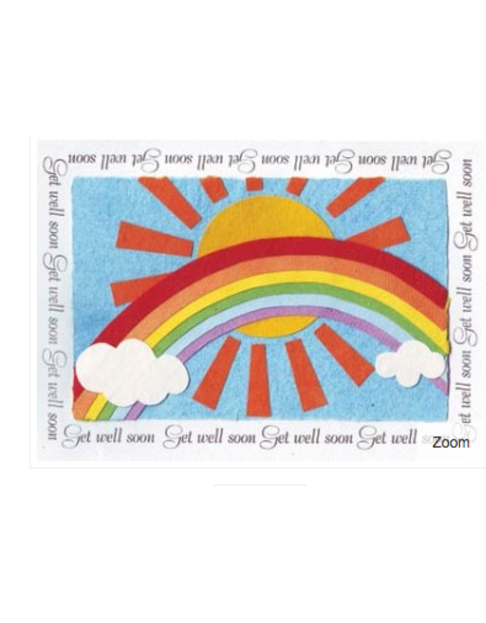 Warm Get Well Wishes Card