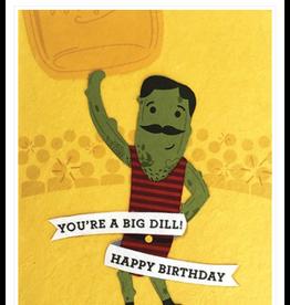 Big Dill Birthday Card, Philippines