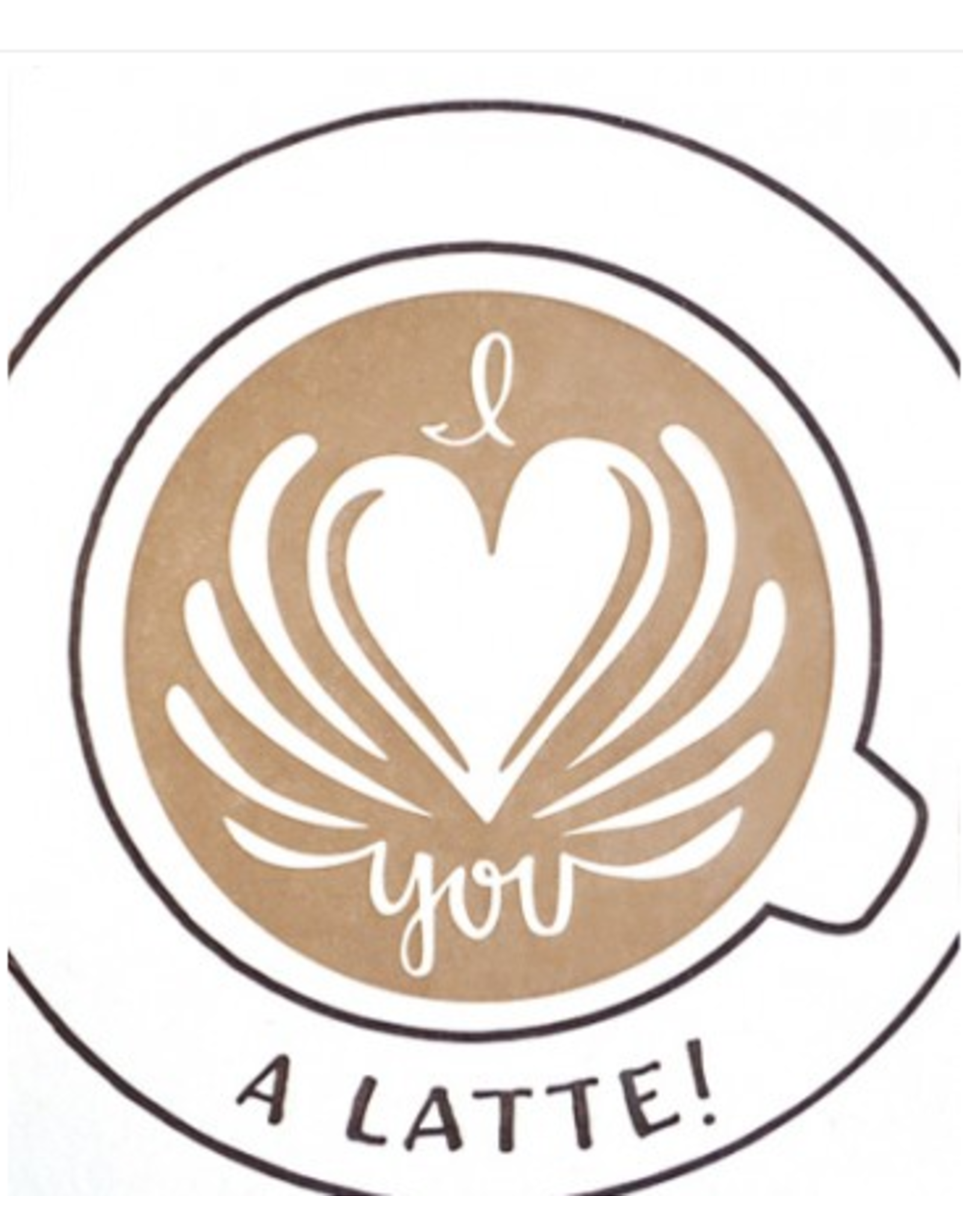Latte Love Greeting Card, Philippines