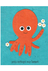 You Octopi My Heart Greeting Card