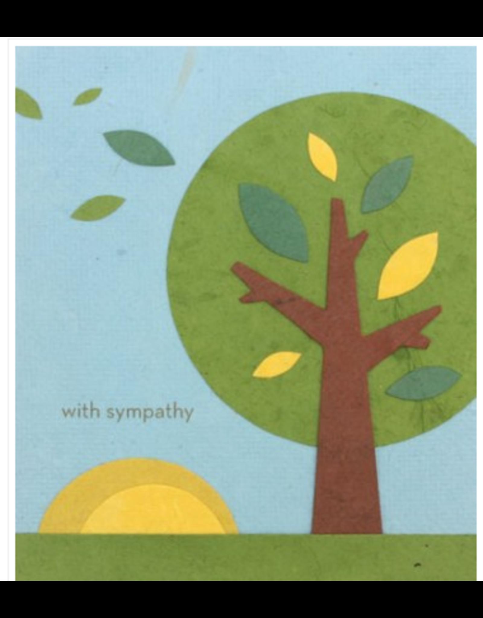 Sympathy Tree Greeting Card, Philippines