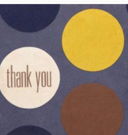 Blue Thank You Dots