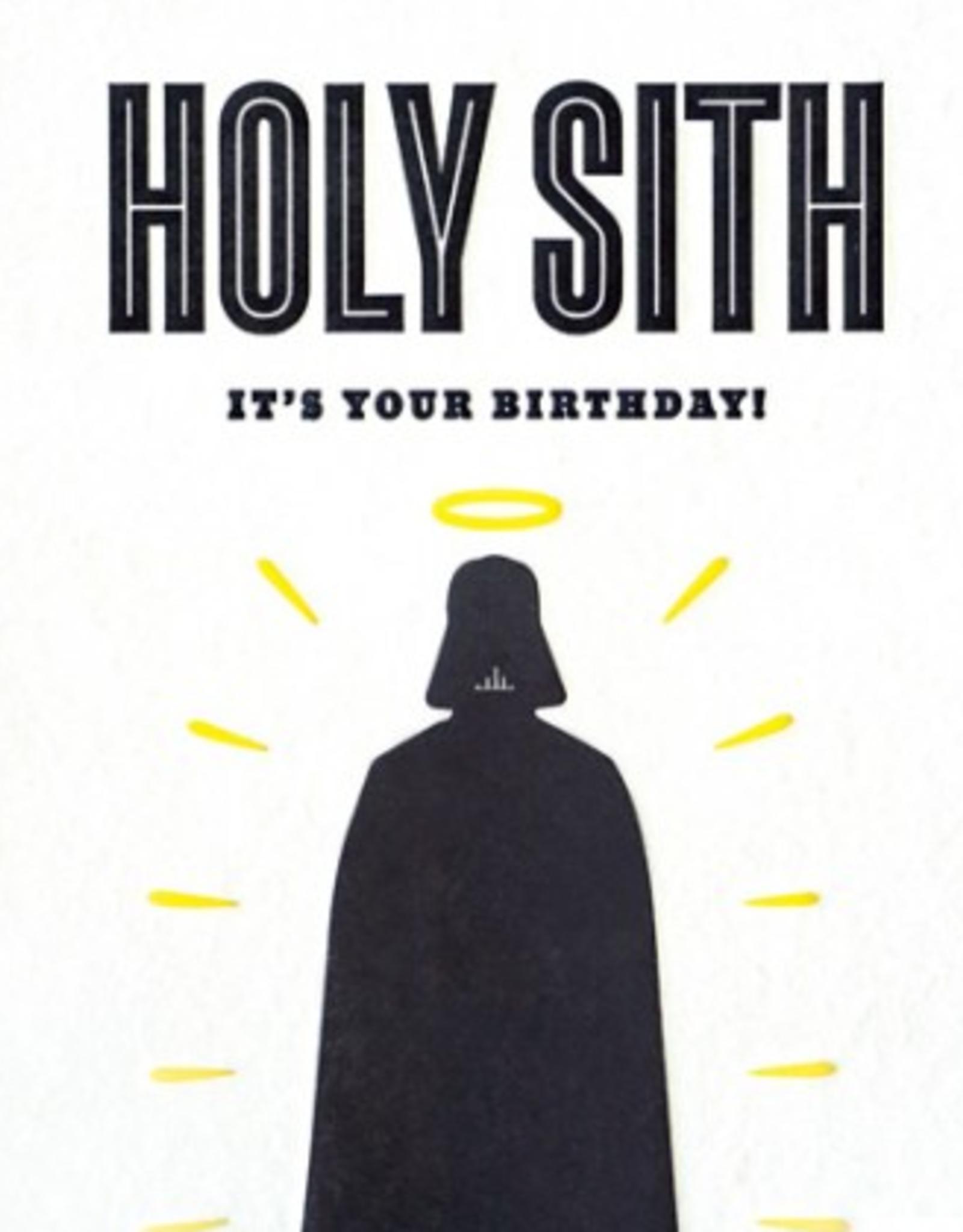 Holy Sith Birthday Card