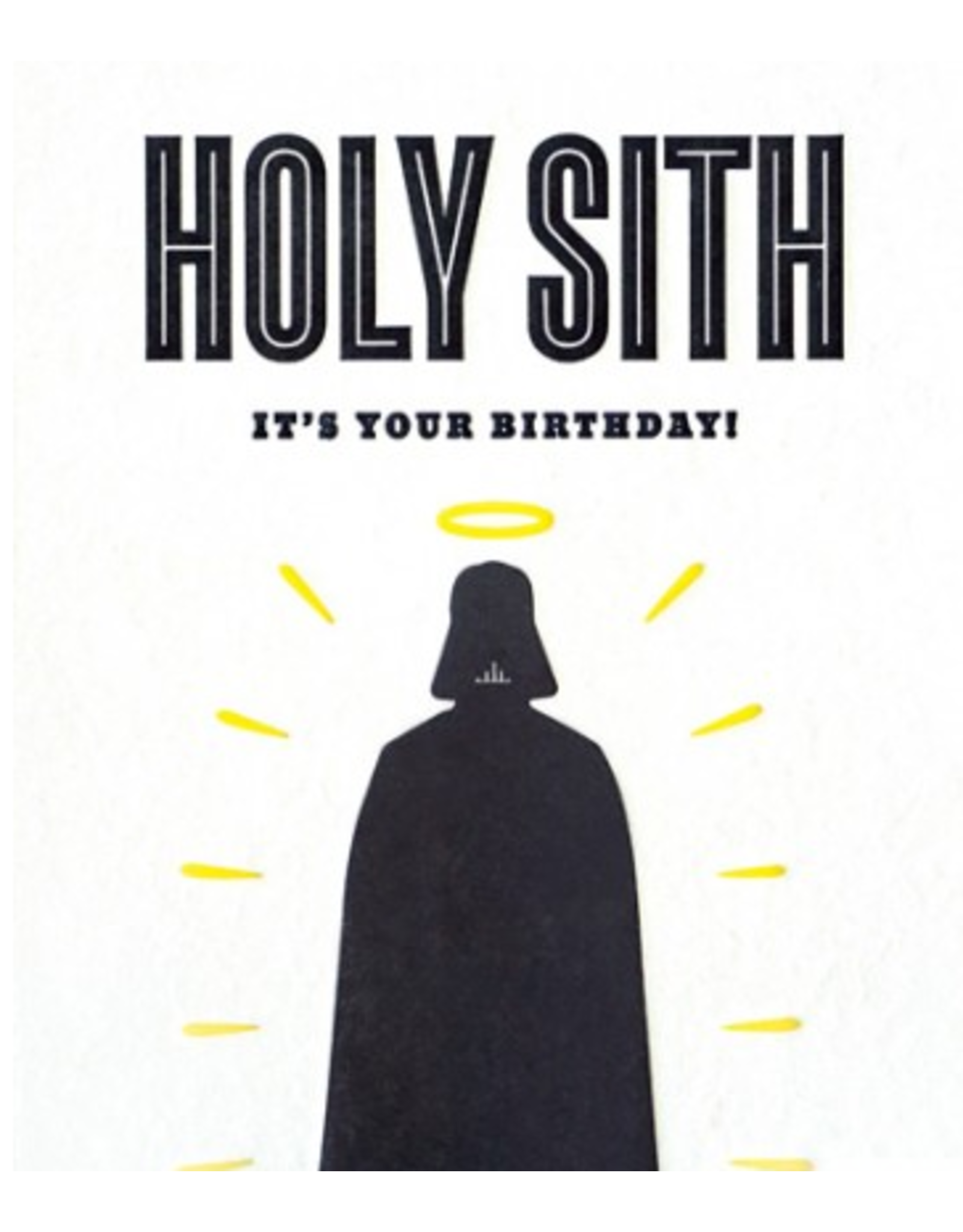 Holy Sith Birthday Greeting  Card, Philippines