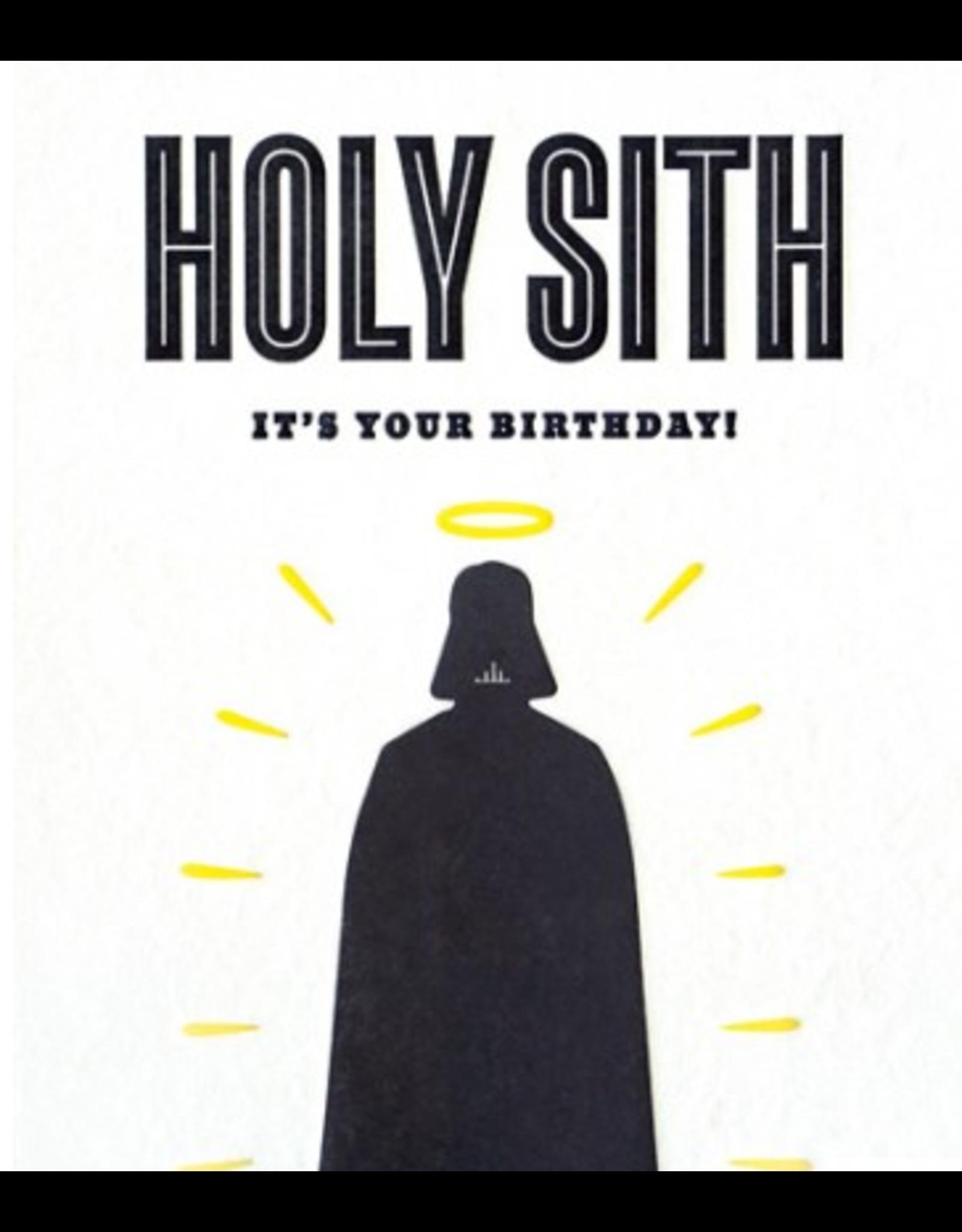 Holy Sith Birthday Greeting  Card