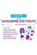 Birthday Recipe