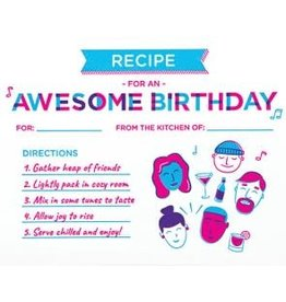 Birthday Recipe Greeting Card, Philippines