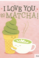 Matcha Love Card