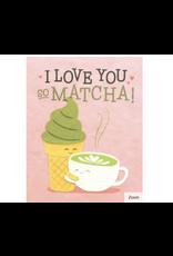 Matcha Love Card