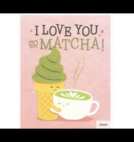 Matcha Love Greeting Card
